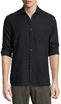 Billy Reid John T Standard-Fit Shirt, Navy