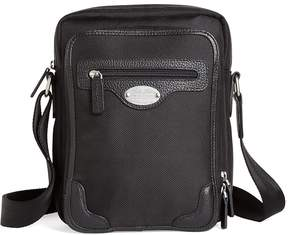 Brooks Brothers Nylon Top Zip Messenger