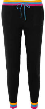 Chinti and Parker Cashmere Track Pants - Black