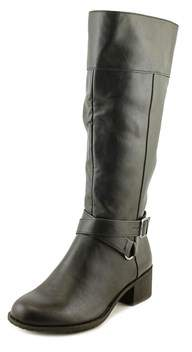 Style&Co. Style & Co Vedaa Women Round Toe Synthetic Black Mid Calf Boot.