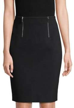 BOSS Vinueza Jersey Twill Pencil Skirt