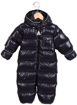 Moncler Boys; Hooded Snow Suit