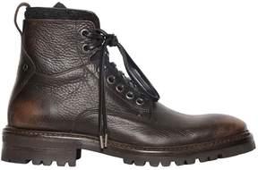 John Varvatos 33mm Tumbled Vintage Leather Boots