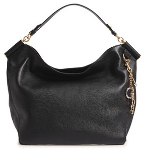 Dolce & Gabbana Miss Sicily Leather Hobo - Black - BLACK - STYLE