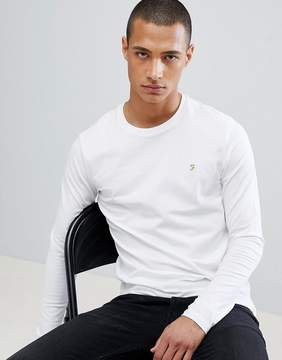 Farah Farris Slim Fit T-Shirt In White