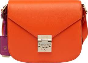 MCM Patricia Shoulder Bag In Grained Leather