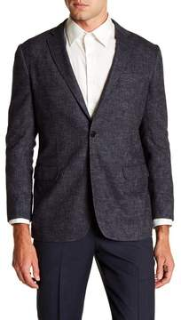 Brooks Brothers Notch Collar Front Button Regent Fit Jacket
