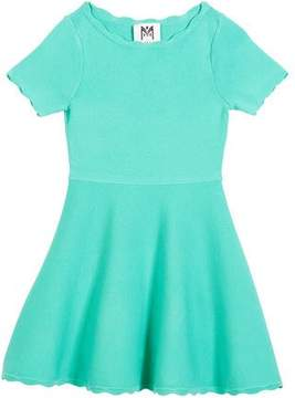 Milly Minis Scallop Flare Dress, Size 8-14