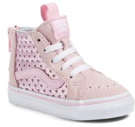 Vans Toddler Girl's Sk8-Hi Zip Sneaker