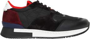 Givenchy Leather, Suede & Mesh Running Sneakers