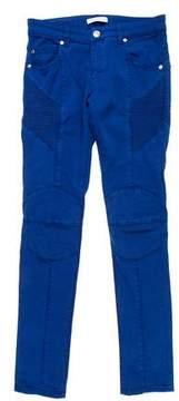 Pierre Balmain Skinny Biker Jeans w/ Tags