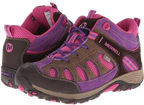 Merrell Chameleon Mid Lace Waterproof (Big Kid)