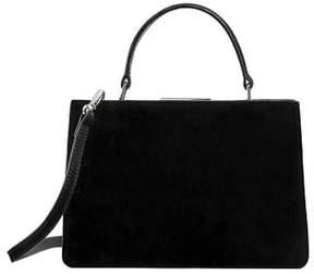 MANGO Small leather bag