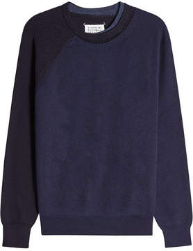 Maison Margiela Cotton and Wool Pullover