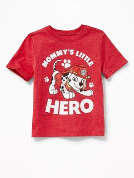 Old Navy Paw Patrol Mommy's Little Hero Tee for Toddler Boys