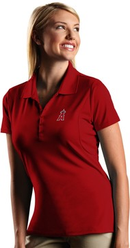 Antigua Women's Los Angeles Angels of Anaheim Xtra-Lite Desert-Dry Pique Performance Polo