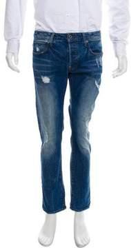 G Star Cropped Slim Jeans