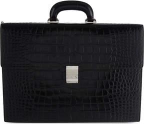Montblanc MeisterstÃ1⁄4ck selection double gusset briefcase