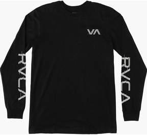 RVCA Glitch Long-Sleeve T-Shirt