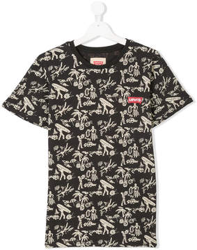 Levi's Kids TEEN printed T-shirt