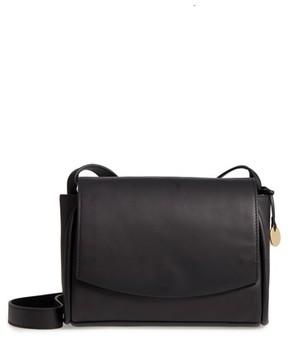 Skagen Sylvi Leather Crossbody Bag - Black