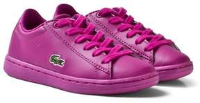 Lacoste Pink Kids Carnaby Evo 317 5 SPC Trainers