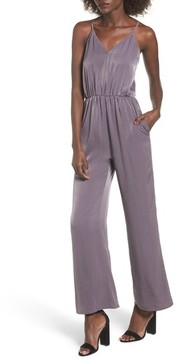 Everly Women's Satin Jumpsuit