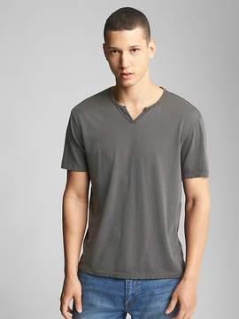 Gap Essential Short Sleeve Notch T-Shirt