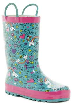 Western Chief Doodle Day Waterproof Rain Boot (Toddler & Little Kid)