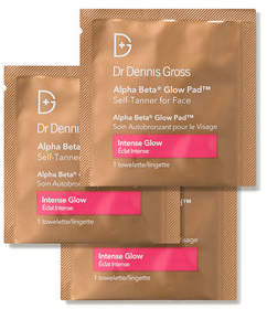 MD Skincare MD Skin Care Alpha Beta Glow Pad Self Tanner for Face - Intense Glow
