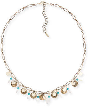 Chan Luu Turquoise Adjustable Chain Necklace