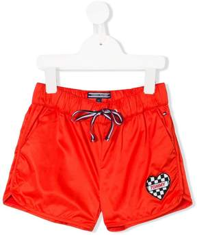 Tommy Hilfiger Junior logo patch shorts