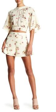 Flying Tomato Floral Print Shorts