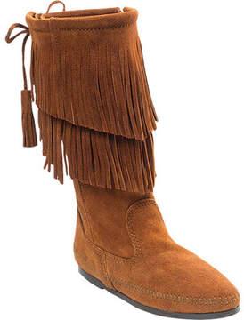 Minnetonka 2 Layer Fringe Boot (Women's)