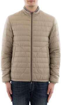 Herno Men's Beige Polyamide Down Jacket.