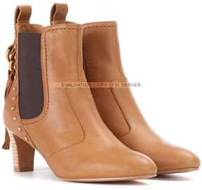 See by Chloe Leather ankle boots