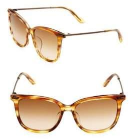 Bottega Veneta 53MM Wayfarer Sunglasses