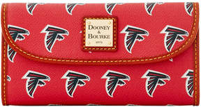 Dooney & Bourke NFL Falcons Continental Clutch - FALCONS - STYLE