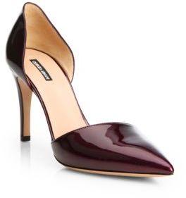 Giorgio Armani Patent Leather D'Orsay Pumps