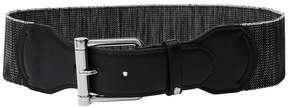 Lauren Ralph Lauren Stretch Roller Tab Front Belt Women's Belts