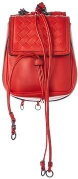 Bottega Veneta Intrecciato Nappa Leather Shoulder Bag.