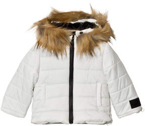 Diadora White Gannet Peak Infant Snow Jacket