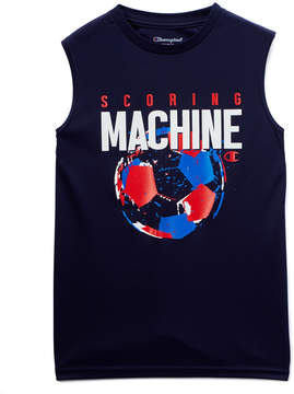 Champion Navy 'Scoring Machine' Muscle Tee - Toddler & Boys