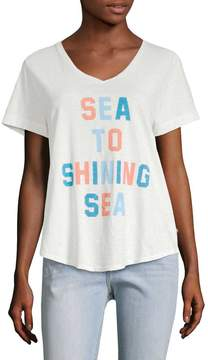 Sol Angeles Women's Shining Sea Torque Tee