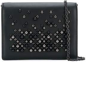 Bottega Veneta embellished foldover bag