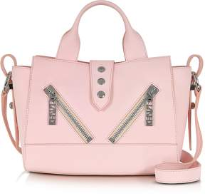 Kenzo Mini Kalifornia Rose Gommato Leather Handbag