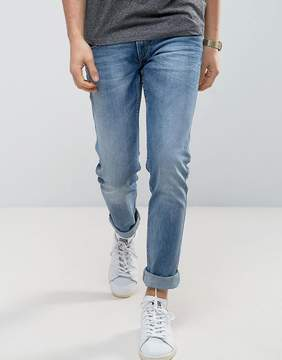 Replay Anbass Stretch Slim Jeans Light Stone Wash