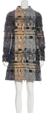 Chanel 2016 Paris-Rome Fantasy Tweed Dress
