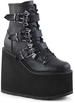 Demonia Women's Swing 103 Platform Wedge Ankle Boot