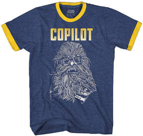Star Wars Novelty T-Shirts Chewbacca Copilot Graphic Tee
